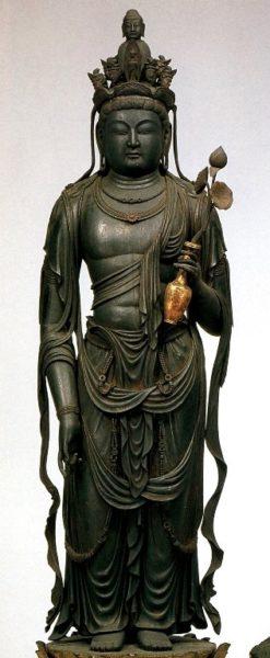 大阪・道明寺の《十一面観音菩薩立像》