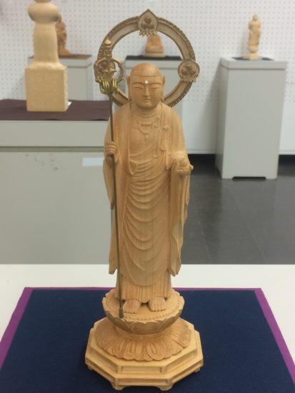 《地蔵菩薩立像》