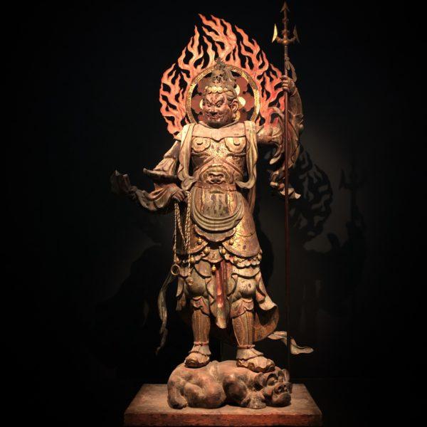 浄瑠璃寺蔵の《広目天(四天王立像のうち)》