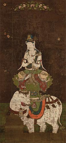 《普賢菩薩像》