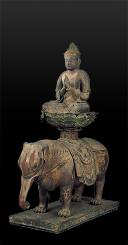 大倉集古館蔵の《普賢菩薩騎象像》