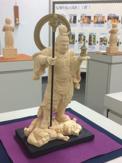 《毘沙門天立像》