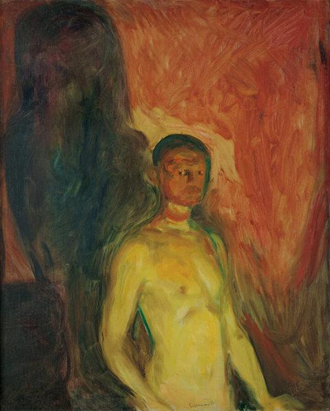 エドヴァルド・ムンク《地獄の自画像》