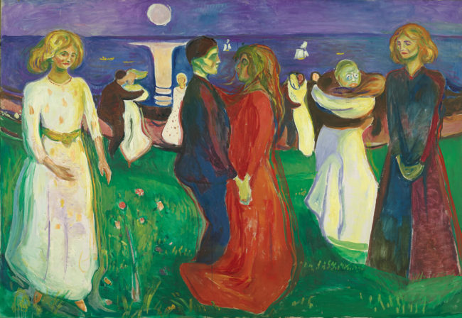 エドヴァルド・ムンク《生命のダンス》