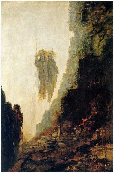 ギュスターヴ・モロー《ソドムの天使》