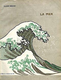 クロード・ドビュッシー作曲 交響詩『海』(楽譜)