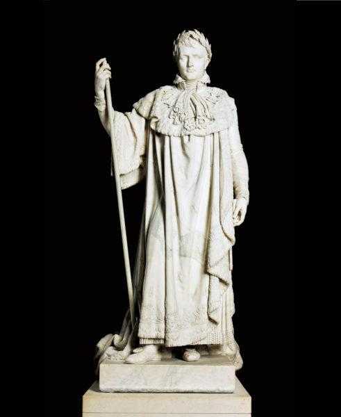 クロード・ラメ《戴冠式の正装のナポレオン1世》