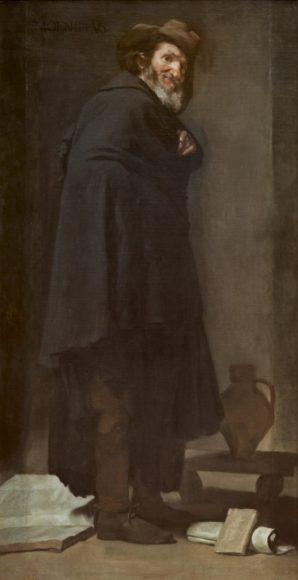 ディエゴ・ベラスケス《メニッポス》