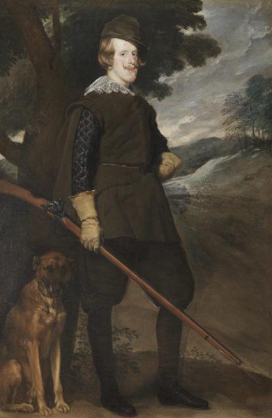 ディエゴ・ベラスケス《狩猟服姿のフェリペ4世》