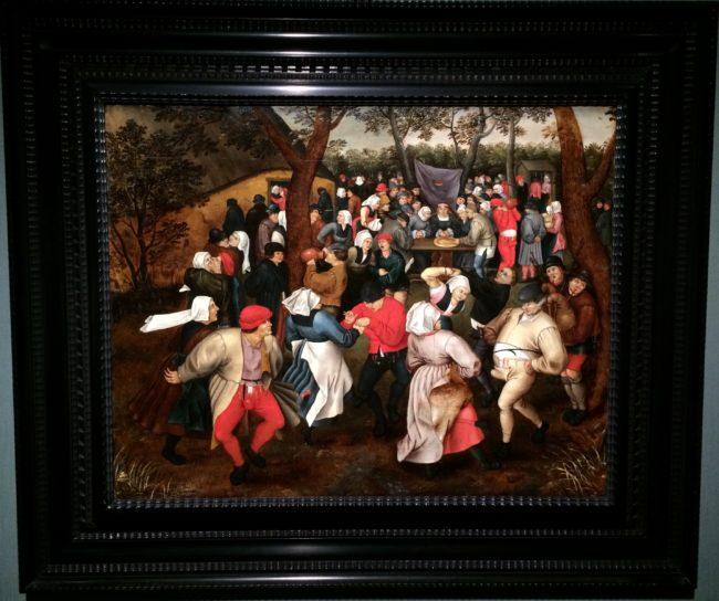 ピーテル・ブリューゲル2世《野外での婚礼の踊り》
