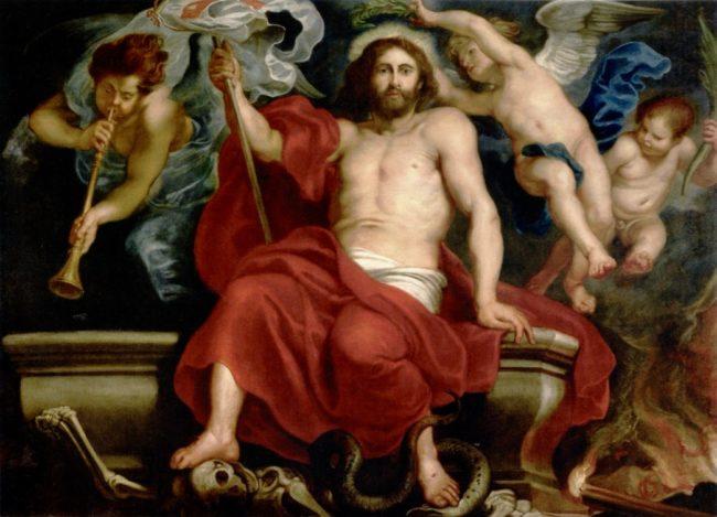 ペーテル・パウル・ルーベンス《死と罪に勝利するキリスト》
