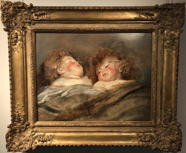 ペーテル・パウル・ルーベンス《眠るふたりの子供》