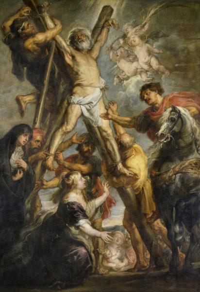 ペーテル・パウル・ルーベンス《聖アンデレの殉教》