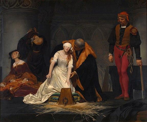 ポール・ドラローシュ《レディ・ジェーン・グレイの処刑》