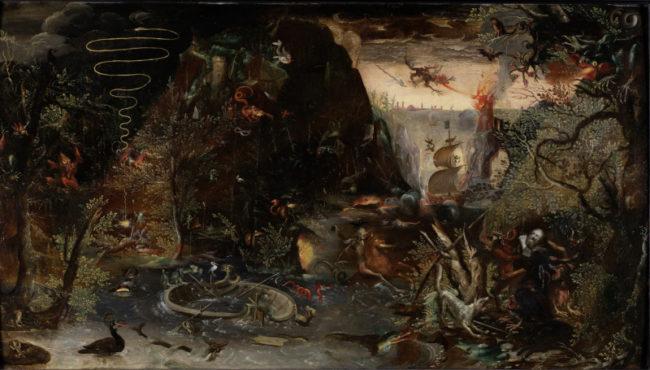ーテル・ステーフェンス2世 《聖アントニウスの誘惑》