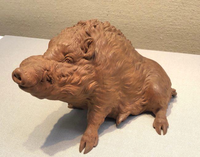 石川光明《野猪》