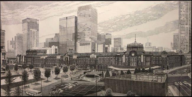 石橋暢之《東京駅》