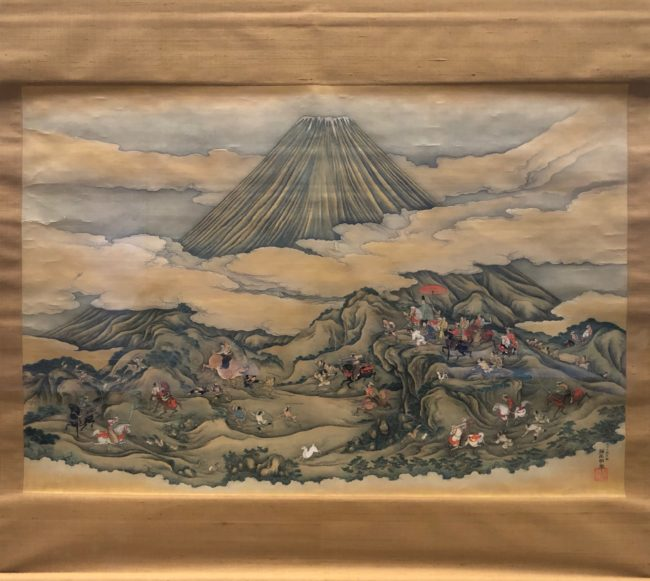 結城正明《富士の巻狩》