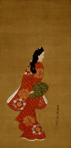 菱川師宣《見返り美人図》